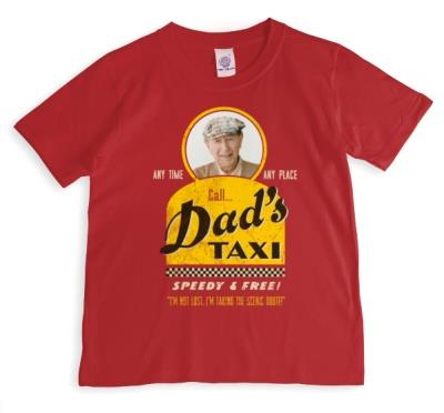 Dad's Taxi Photo Upload T-shirt