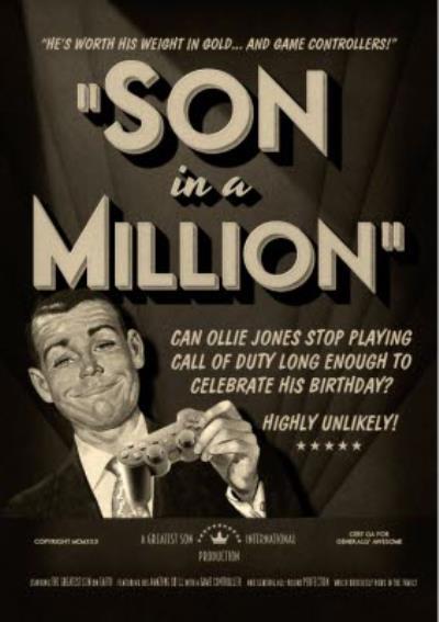Film Noir Son In A Million Card