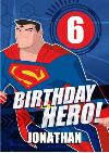 Justice League Birthday Hero Card