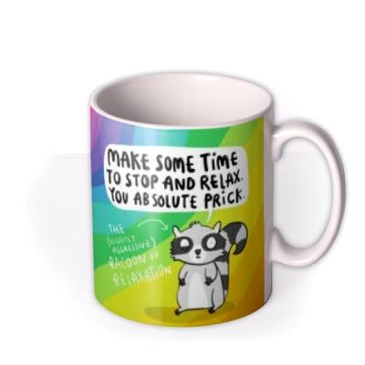 The Racoon Of Relaxation Mug