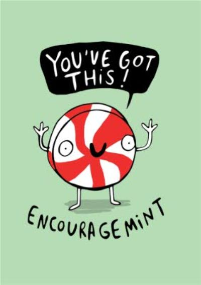 Illustrated Youve Got This Encouragment Card