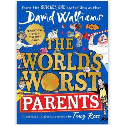 David Walliams World's Worst Parents Book