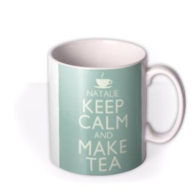 Keep Calm Tea Personalised Mug