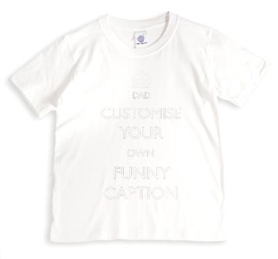 Dad Funny Caption Personalised T-shirt