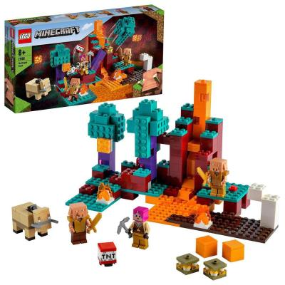 LEGO Minecraft The Warped Forest Building Set 21168