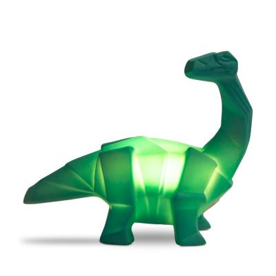 LED Lamp Dinosaur Green