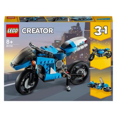 LEGO Creator 3 in 1 Superbike Building Set 31114