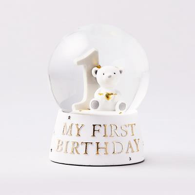 'My 1st Birthday' Snowglobe