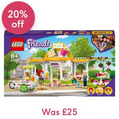 LEGO Friends Heartlake City Organic Café Set 41444