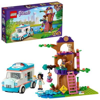 LEGO Friends Vet Clinic Ambulance Toy Car 41445