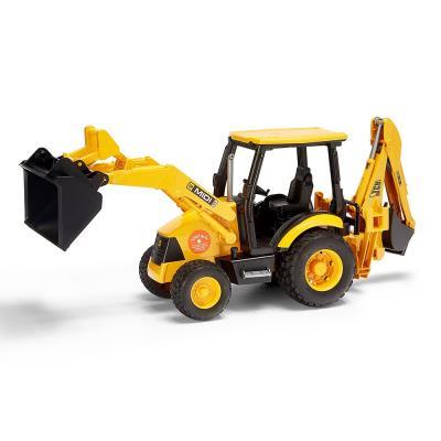 Yellow JCB Excavator