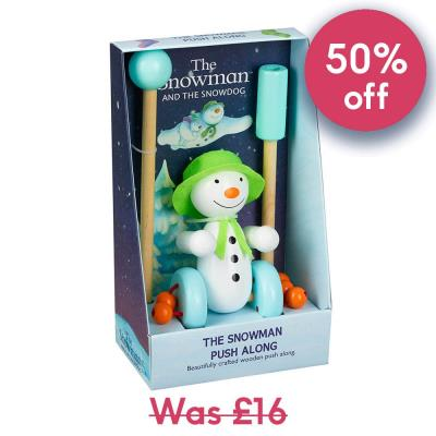 'The Snowman' Push Along