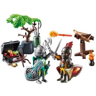 Playmobil Knights Starter Pack with Treasure