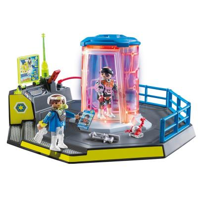 Playmobil Super Set Galaxy Police Rangers Prison Cell with LED Lights