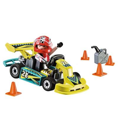 Playmobil Action Go-Kart Play Set & Carry Case