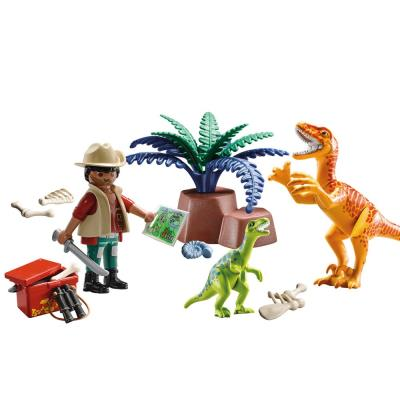 Playmobil Dinosaur Explorer Play Set & Carry Case