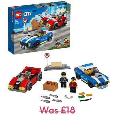 LEGO City Police Highway Arrest Set 60242