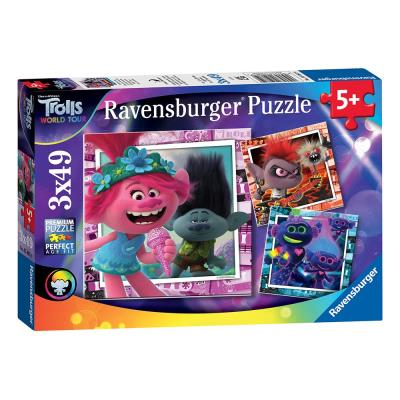Ravensburger Trolls 2 World Tour Jigsaw Puzzle 3 Part Set