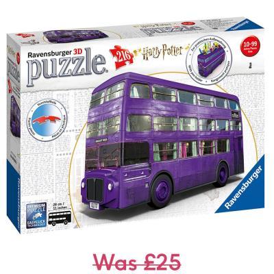 Ravensburger Harry Potter Knight Bus 3D Jigsaw Puzzle