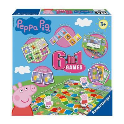 Ravensburger Peppa Pig 6-in-1 Classic Games