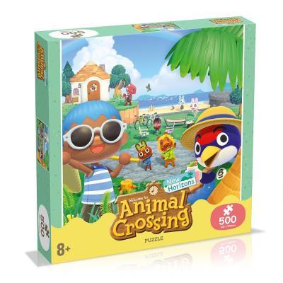 Animal Crossing 500-Piece Puzzle