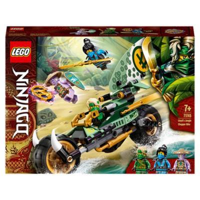 LEGO NINJAGO Lloyd's Jungle Chopper Bike Toy 71745