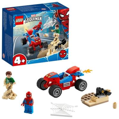 LEGO Marvel Spider-Man & Sandman Showdown Toy 76172