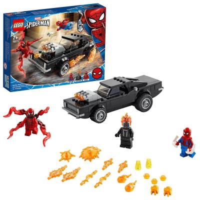 LEGO Marvel Spider-Man Ghost Rider & Carnage Toy 76173