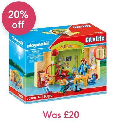 Playmobil School Play Box