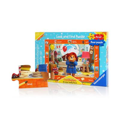 Ravensburger Paddington Bear My First Look and Find Floor Puzzle