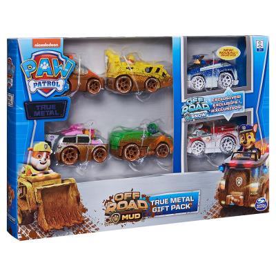 PAW Patrol True Metal Vehicles Gift Set