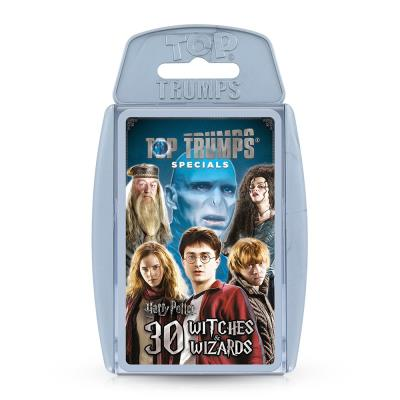 Harry Potter Greatest Witches & Wizards Top Trumps Specials