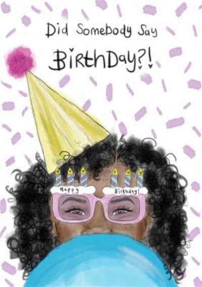 KitsCH Noir Birthday Card