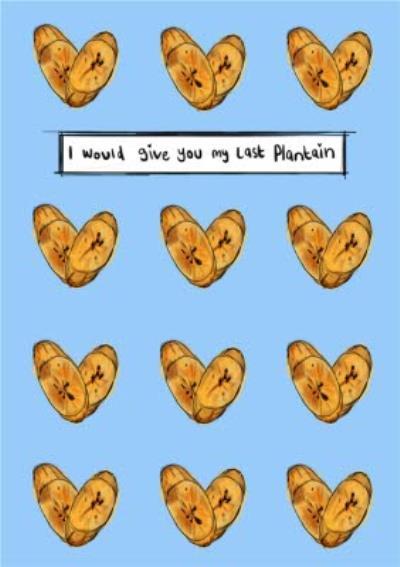 KitsCH Noir Illustrated Food Valentines Card