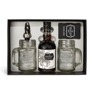 Kraken Black Spiced Rum 35cl Gift Set
