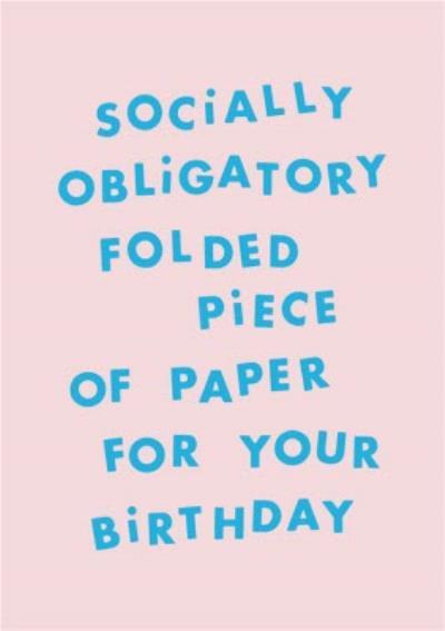 Kate Smith Company Birthday Card