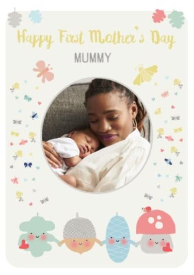 Little Acorns First Mother's Day Photo Upload Card