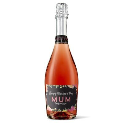 Personalised Mother's Day Sparkling Rose
