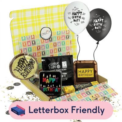 Happy Birthday Celebration Letterbox