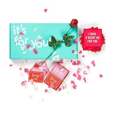 Valentine's Confetti Letterbox