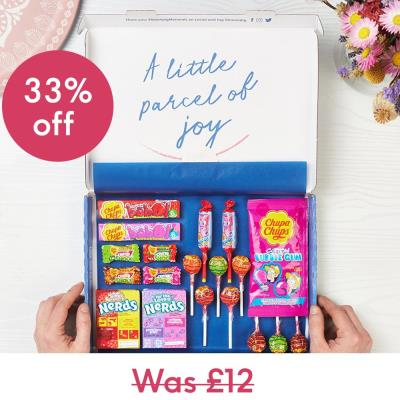 Candy Cave Letterbox Gift