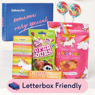 Rainbow Sweets Letterbox Gift