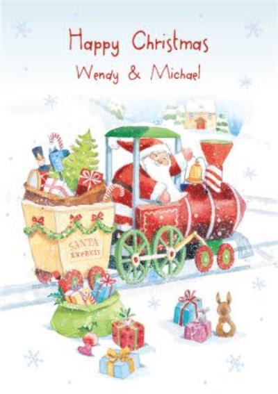 Christmas Card - Santa Express