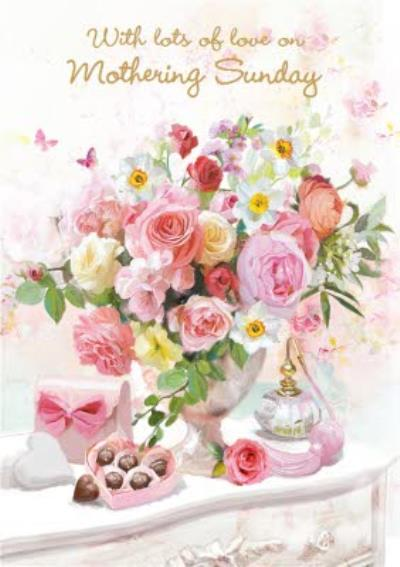 Mother's Day Card - Beautiful Floral Card