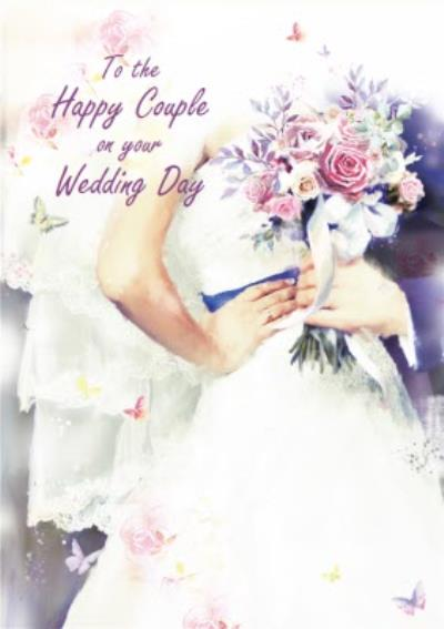 To The Happy Couple On Your Wedding Card