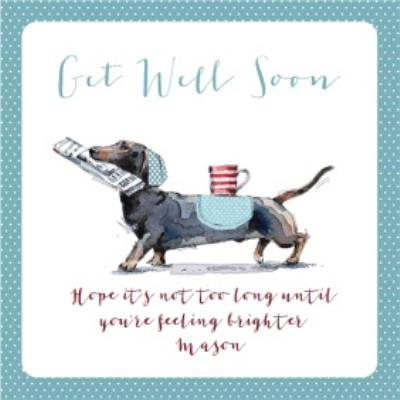 Ling design - get well soon card
