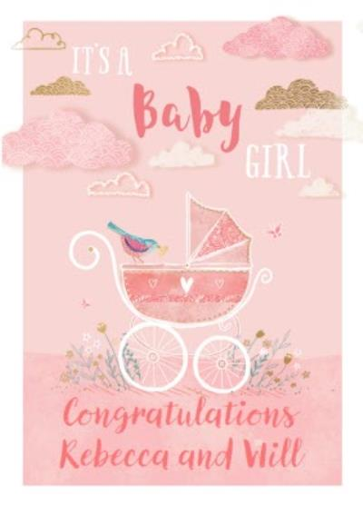 Ling design - It's a baby Girl - New Baby