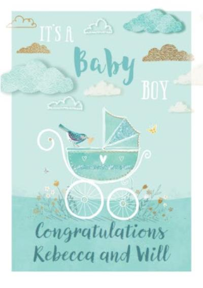 Ling design - It's a baby Boy - New Baby