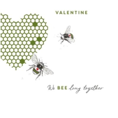 Ling We Bee Long Together Valentine's Day Card