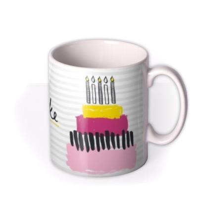 Oh Yes Cake Personalised Mug